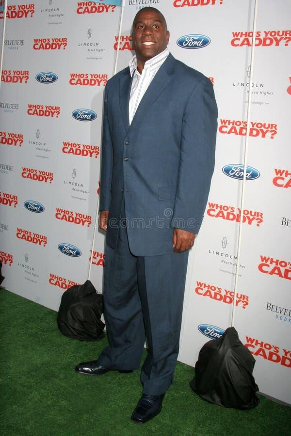 Magic Johnson, stock photo