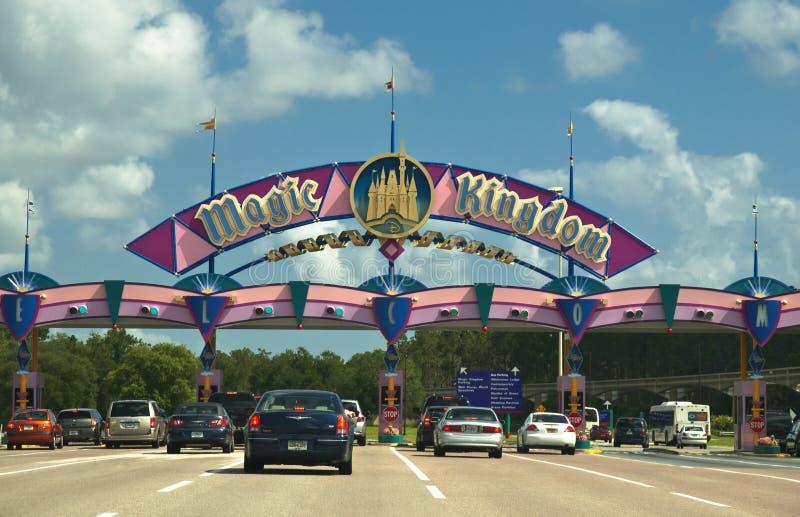 Magic Kingdom Entrance Editorial Image
