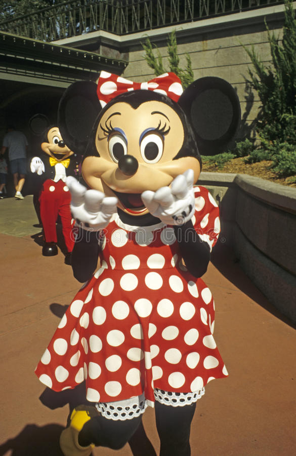 Download Magic Kingdom - Minnie Mouse With Mickey Mouse Editorial Stock Photo - Image: 22698213