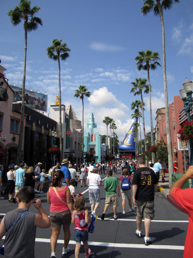 Magic Kingdom theme park Orlando FL royalty free stock photos