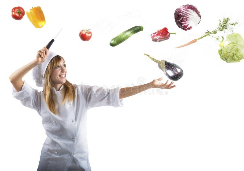 Magic kitchen royalty free stock photography