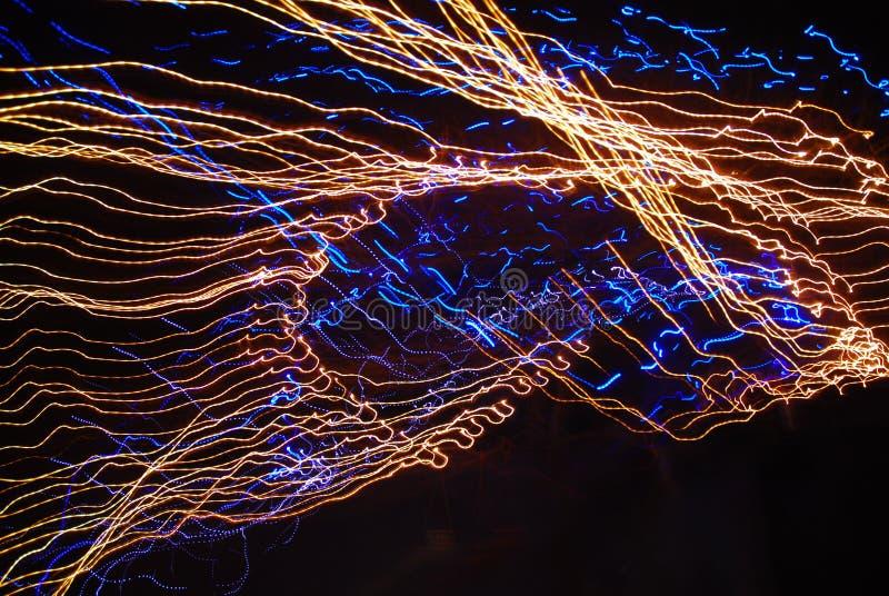 Magic light. The magic light I shot it in my home royalty free stock photos