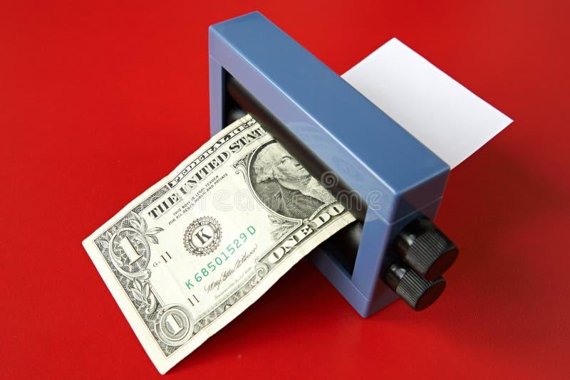 Magic of making money stock photography