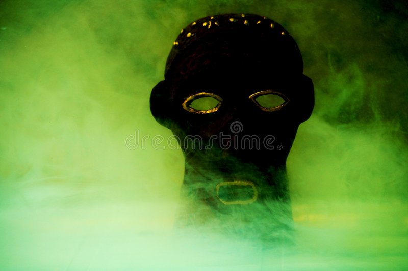 Magic mask royalty free stock photos
