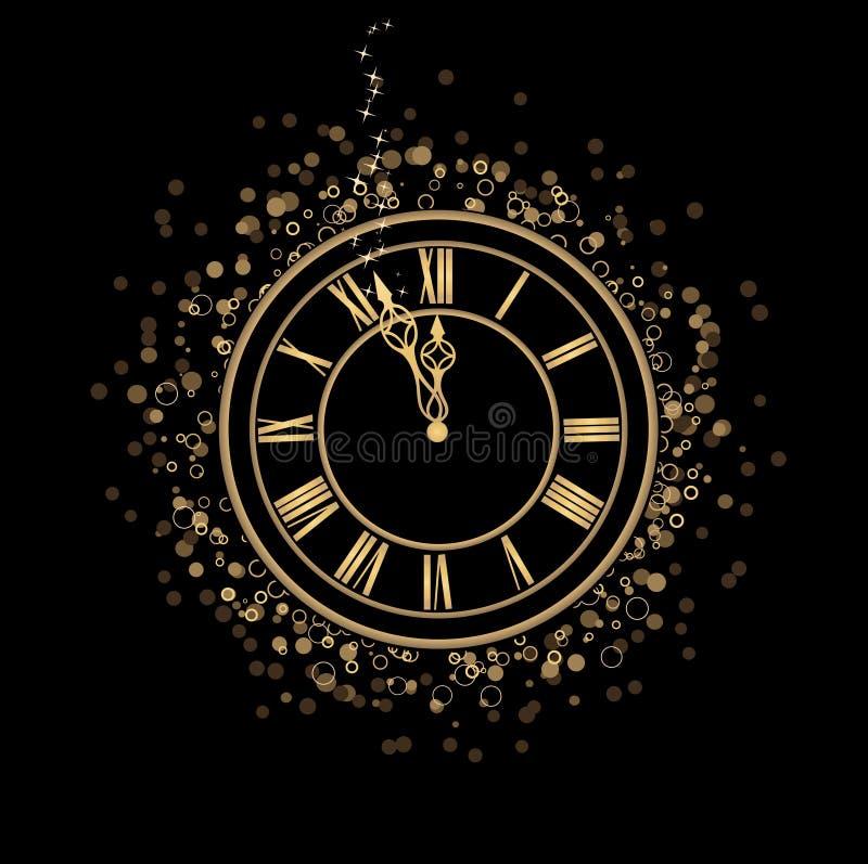 Magic midnight stock image