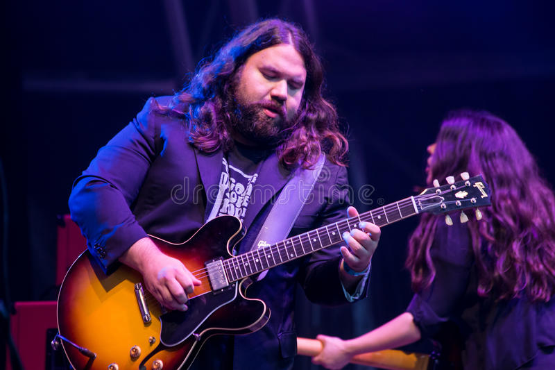 The Magic Numbers at The Larmer Tree Festival, Tollard Royal, Wiltshire, UK. The Larmer Tree festival is celebrating it's 25th anniversary with a wide range of royalty free stock photography