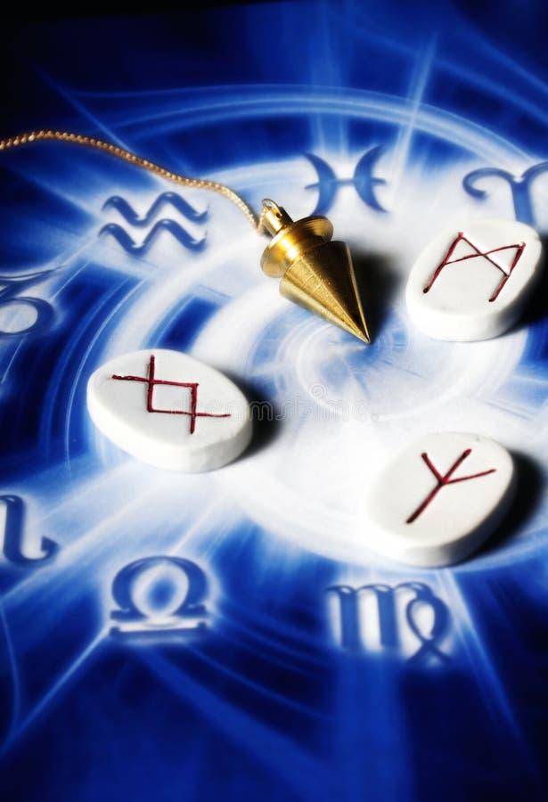 Magic pendulum royalty free stock photos