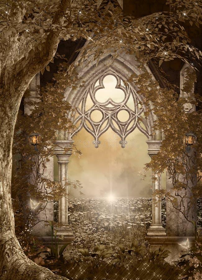 Free Magic Portal To The Elves` World Royalty Free Stock Photos - 139675308