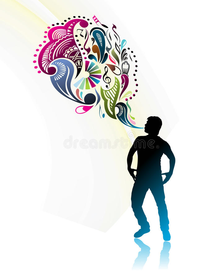 Download Magic power man stock vector. Illustration of illustration - 13182041