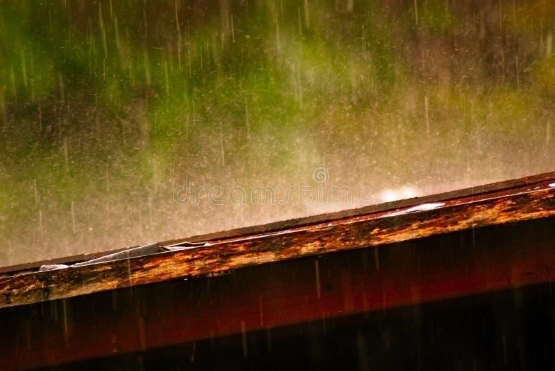 Magic rain royalty free stock photo