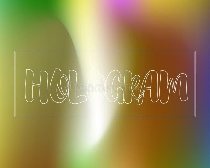 Magic Rainbow Colors Gradient Background vector illustration