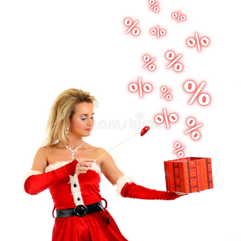 Download Magic sale stock image. Image of clause, face, season - 7174727