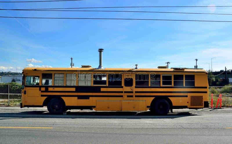 Magic Schoolbus stock photo