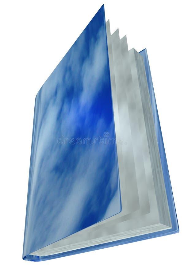 Magic sky book vector illustration