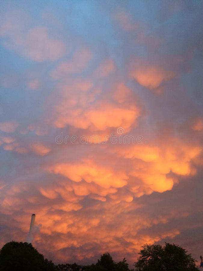 Magic sky royalty free stock photo