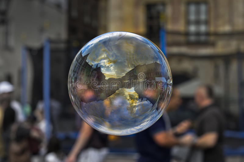 Download Magic Soap bubble stock image. Image of wizard, clouds - 31541773