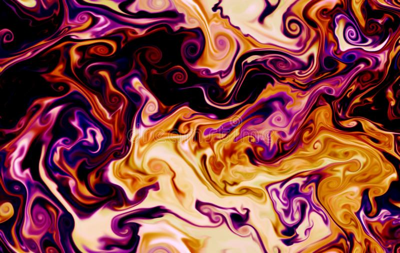 Magic space texture, pattern, looks like colorful smoke and fire. It look like colorful glowing clouds. Magic space texture, pattern, looks like colorful smoke vector illustration
