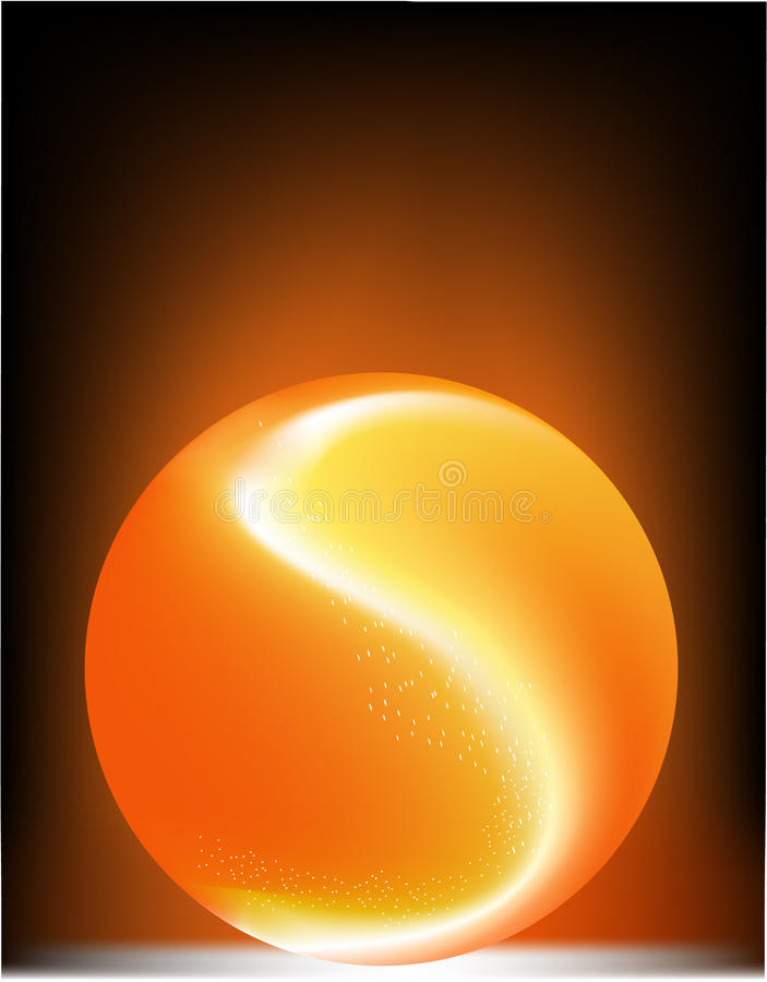 Magic Sphere Royalty Free Stock Image