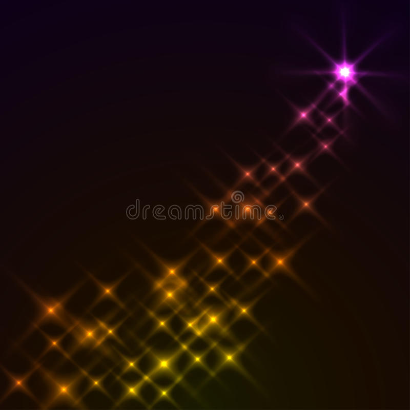 Download Magic stars background stock vector. Image of glow, magic - 12980799