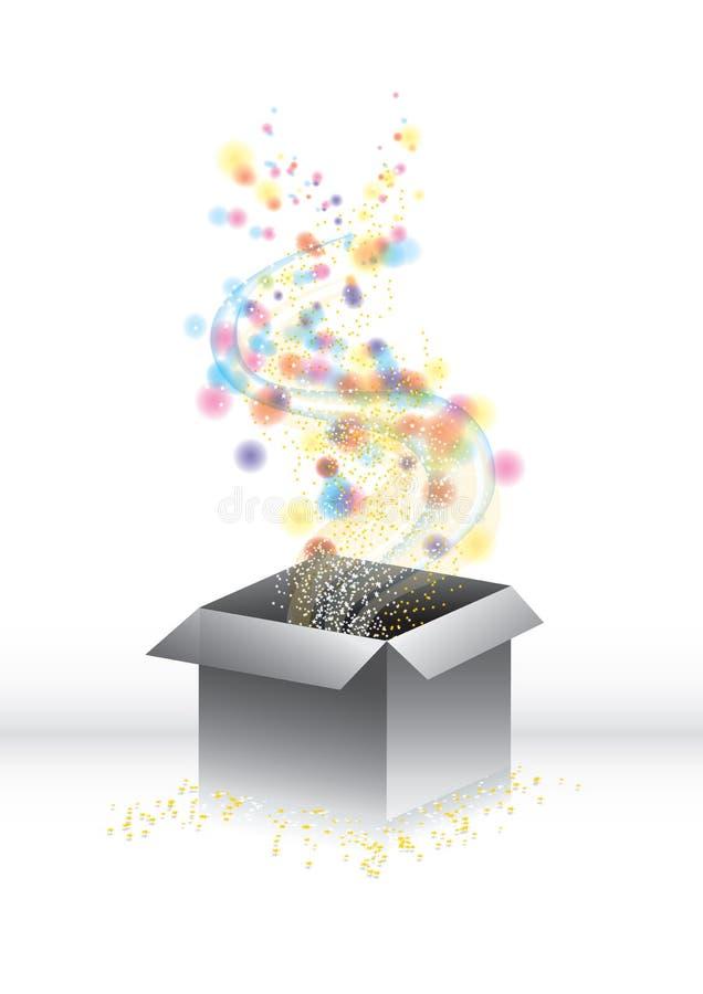 Free Magic Surprise Gift-box Royalty Free Stock Image - 13506986