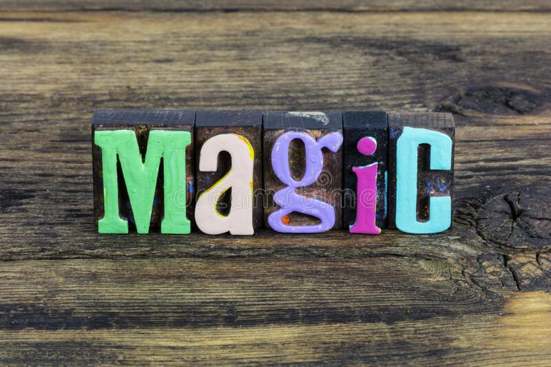 Magic time believe yourself magical moment dream imagination. Magic time to believe yourself and magical moment dream imagination happiness.  Enjoy life and royalty free stock images