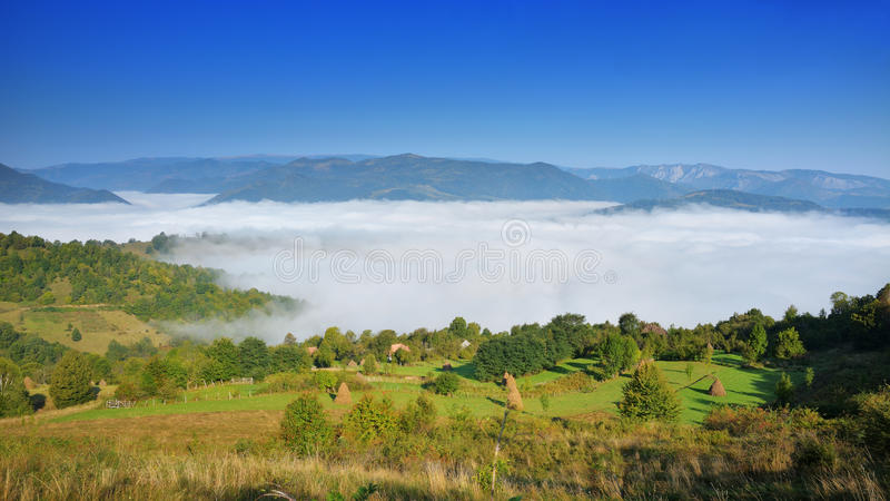 Download Magic Transylvanian Village - Dumesti - Romania Stock Image - Image: 83701205
