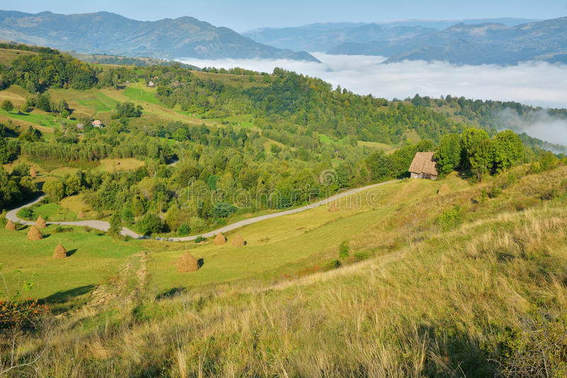 Download Magic Transylvanian Village - Dumesti - Romania Stock Image - Image: 83701969