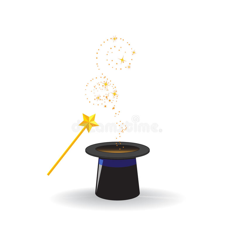 Download Magic wand stock vector. Image of fairy, imagination - 16384783
