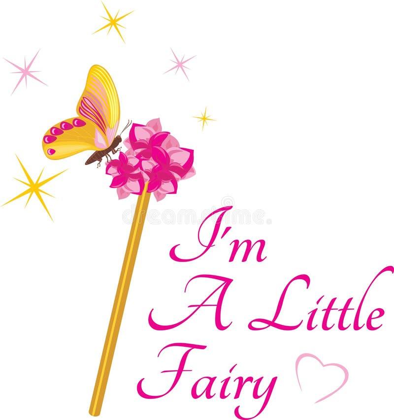 Magic wand for a little fairy stock photo