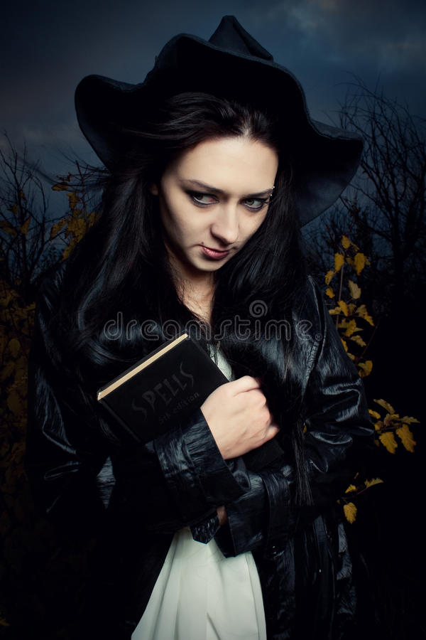 Download Magic wind stock image. Image of young, halloween, beautiful - 21843429
