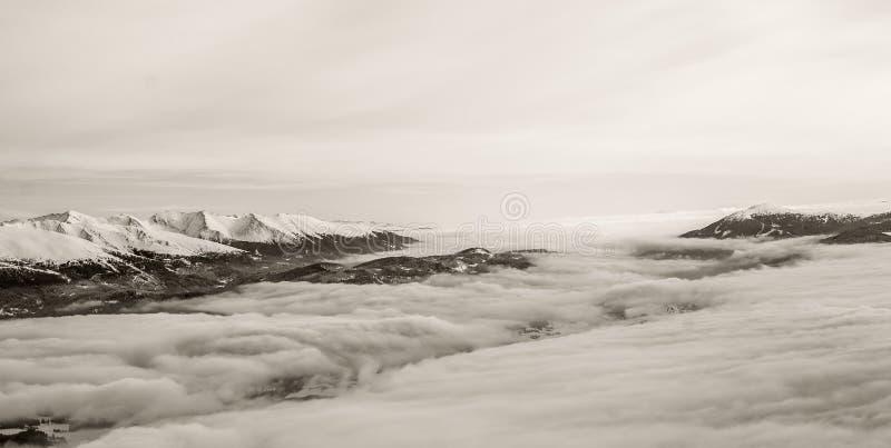 Magic winter in Lungau, Speiereck, Alps stock image