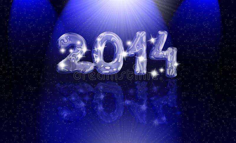 Magic year 2014 stock photo