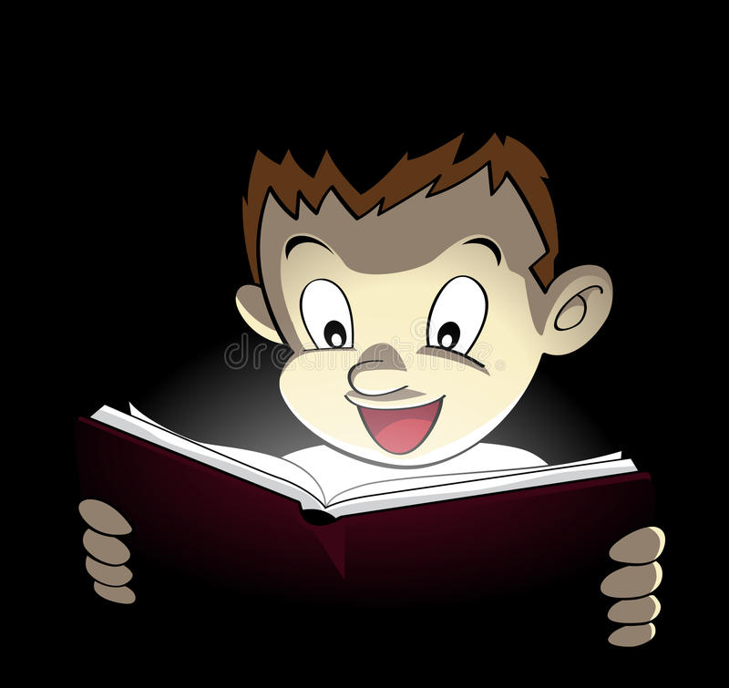 Download Magical Book stock illustration. Image of face, school - 23492544