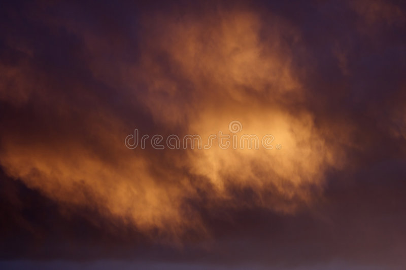 Download Magical Cloud Background stock image. Image of amber, cloudy - 839775