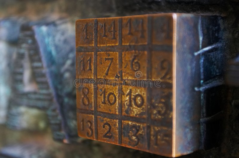 Magical Cube royalty free stock photo