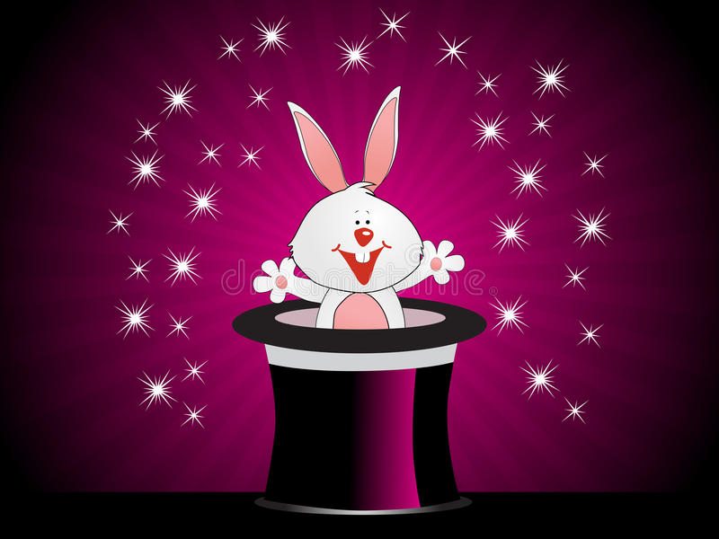 Magical easter day illustration royalty free stock photos