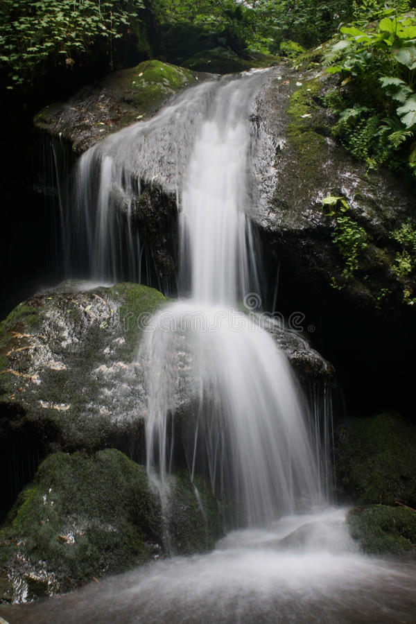 Magical flowing water royalty free stock image