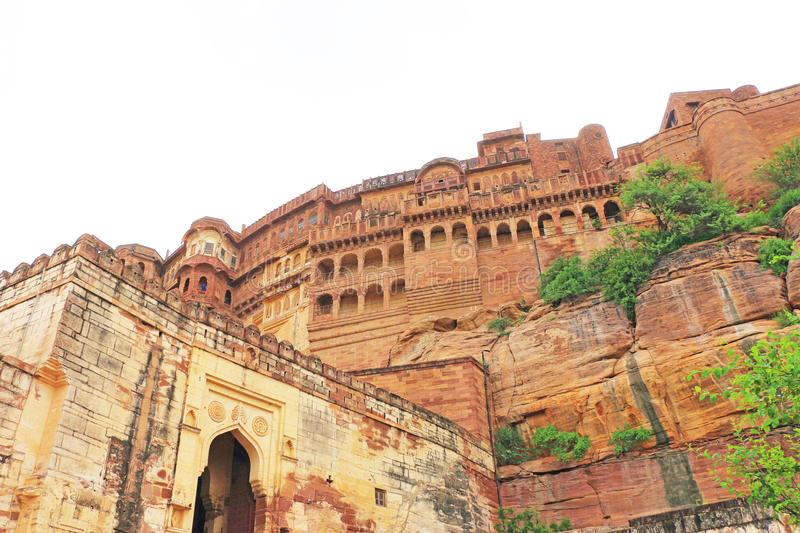 Magical Mehrangarh Fort, Jodhpur, Rajasthan,india royalty free stock images
