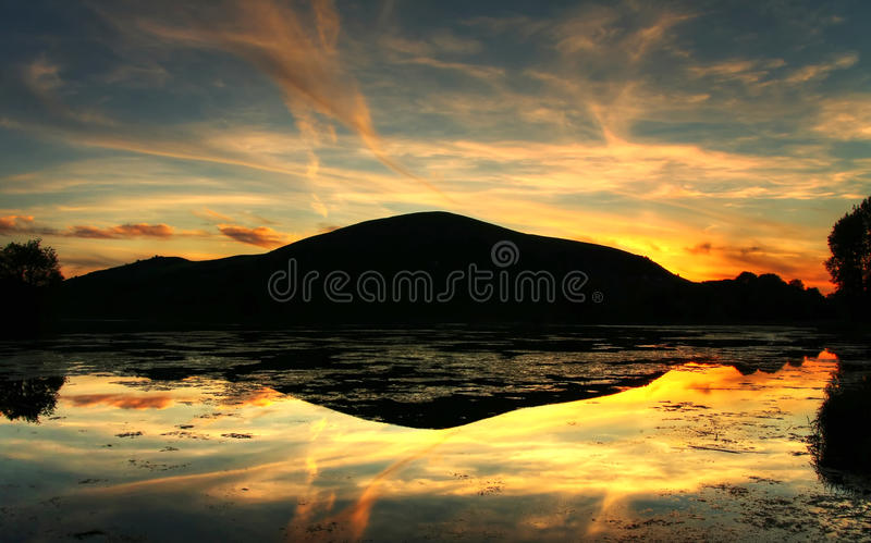 Download Magical Sunset Reflection Royalty Free Stock Photo - Image: 13158635