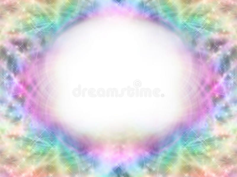 Magical Symmetrical Frame vector illustration