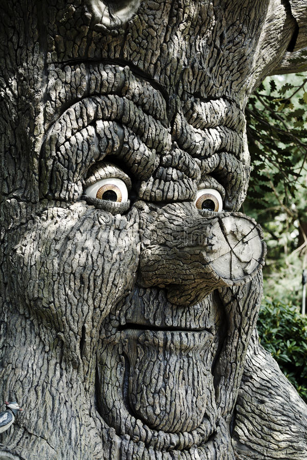Download Magical tree stock image. Image of path, nose, scary - 15323301