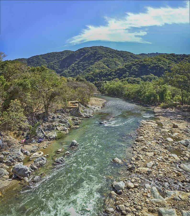 Magical Waterfalls of Copalitilla and Llano Grande, Huatulco ,Oaxaca Mexico. Magical Waterfalls of Copalitilla and Llano Grande, Huatulco royalty free stock photos