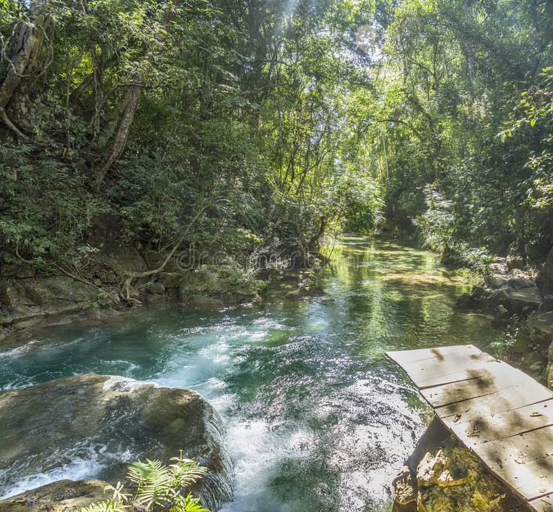 Magical Waterfalls of Copalitilla and Llano Grande, Huatulco ,Oaxaca Mexico. Adventure, attraction, background, beautiful, calcium, carbonate, cascade, cliff royalty free stock photography