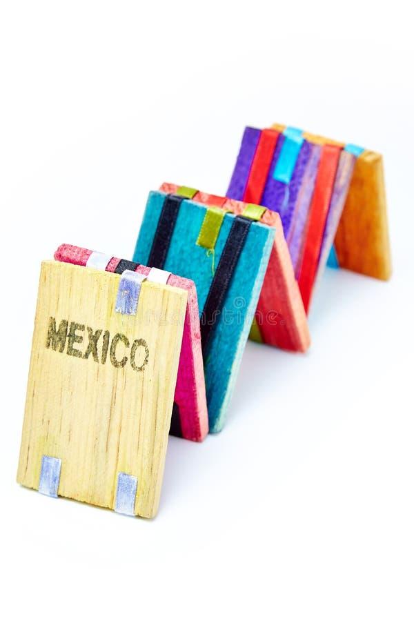 Magicas de Tablitas - juguete del mexicano de las tabletas de la magia fotografía de archivo