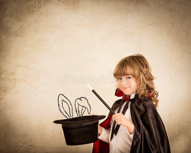 Magician stock image