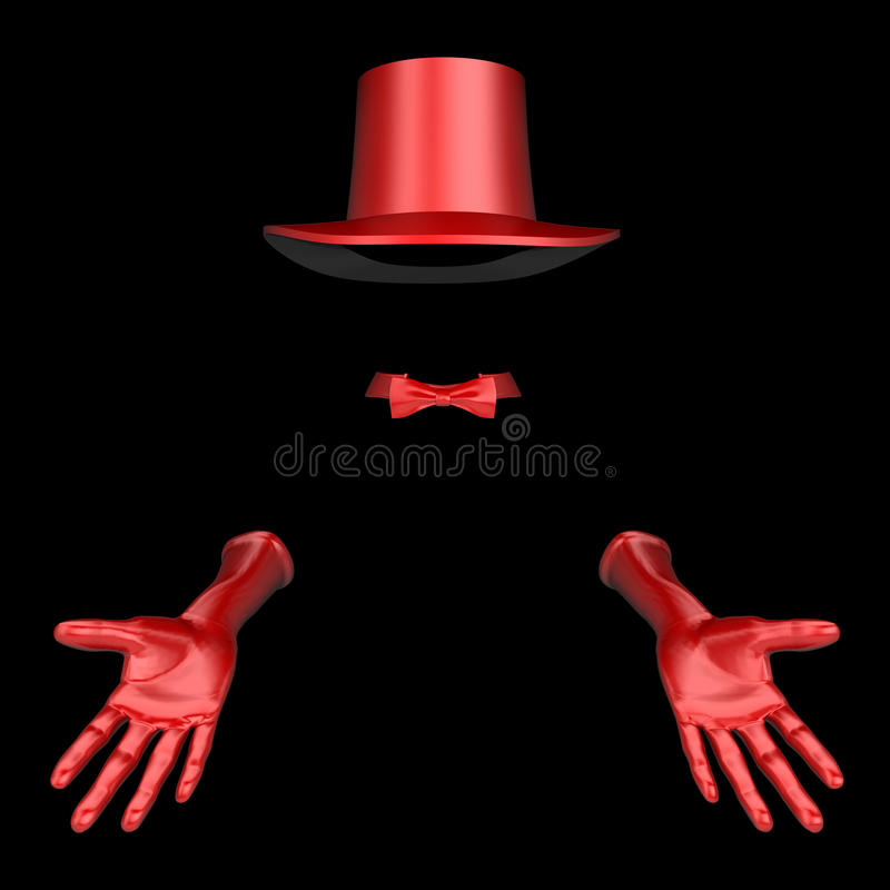 Download Magician Hat And Gloves Stock Image - Image: 13105321