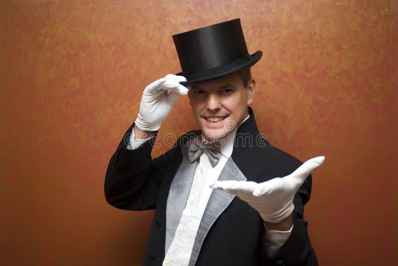 Magician Performing Royalty Free Stock Photo