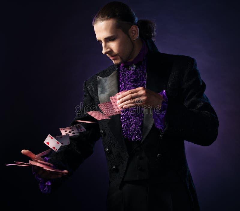 Magicien beau images stock