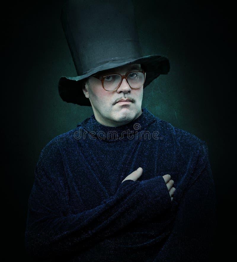Magicien financier photo stock