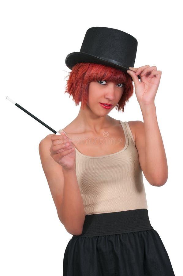 Magicienne de femme photo libre de droits